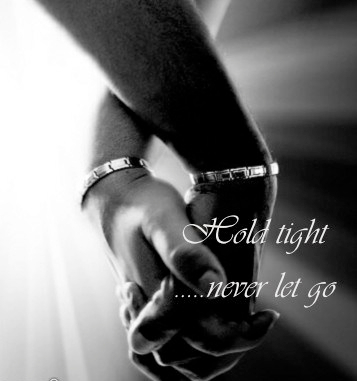 BLACK LOVE NEVER LET GO PIC