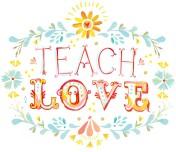 TEACH LOVE FLORAL