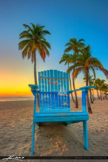 Sunrise Fort Lauderdale Beach Chair